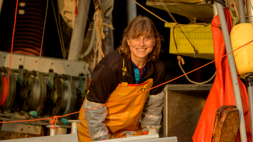 Linda Behnken '85 has won the Heinz Award for her advocacy work to promote sustainable fishing while supporting rural Alaskan fishing communities.
