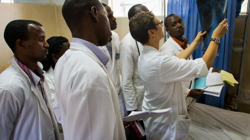 working in Rwanda