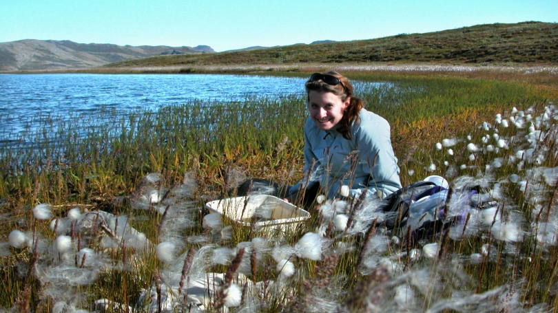 Culler at a Caribou Pond in Greenland