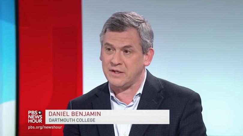 Dan Benjamin on PBS Newshour