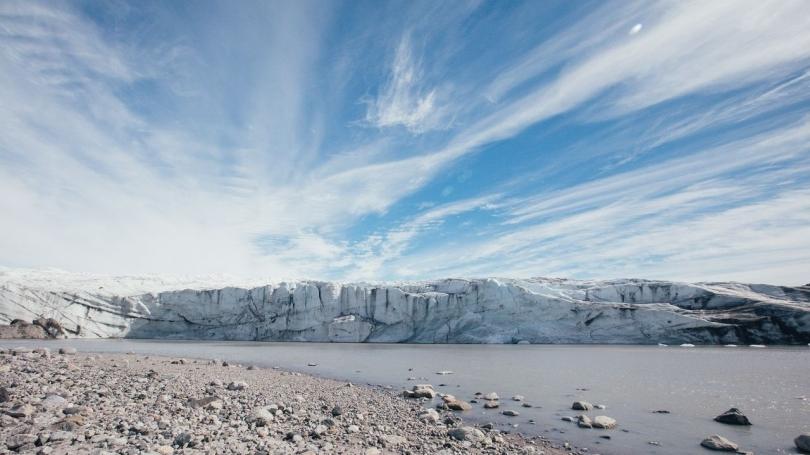 Greenland's massive ice sheet in Kangerlussuaq