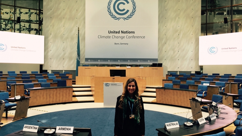 Leehi Yona at the UN