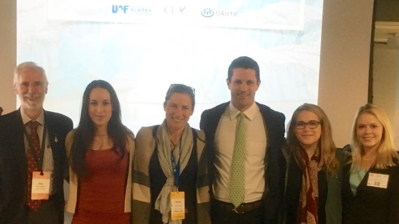 Model Arctic Council participants