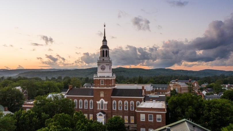 Dartmouth at sunset