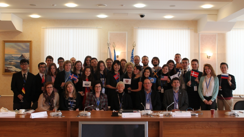Delegates to the Russia MAC conference