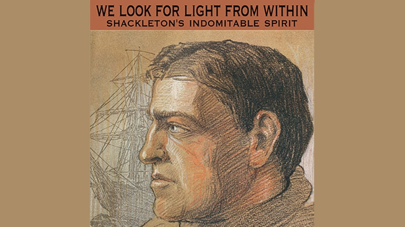 Shackleton Exhibit poster